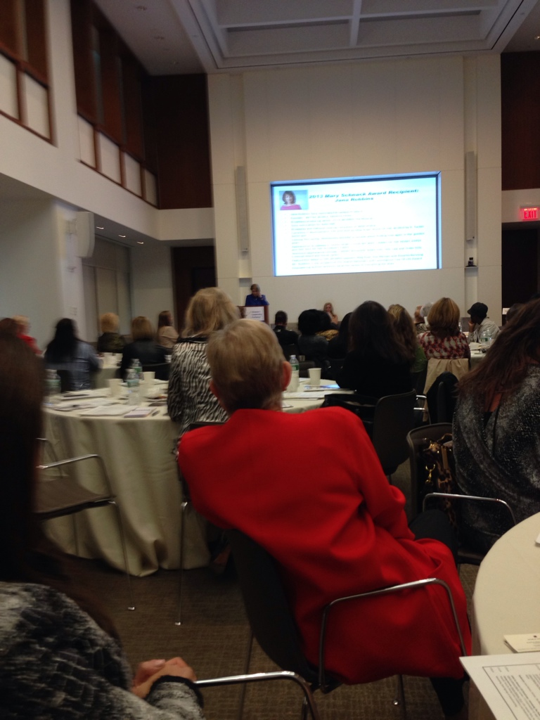 Women's leadership exchange conference in NY