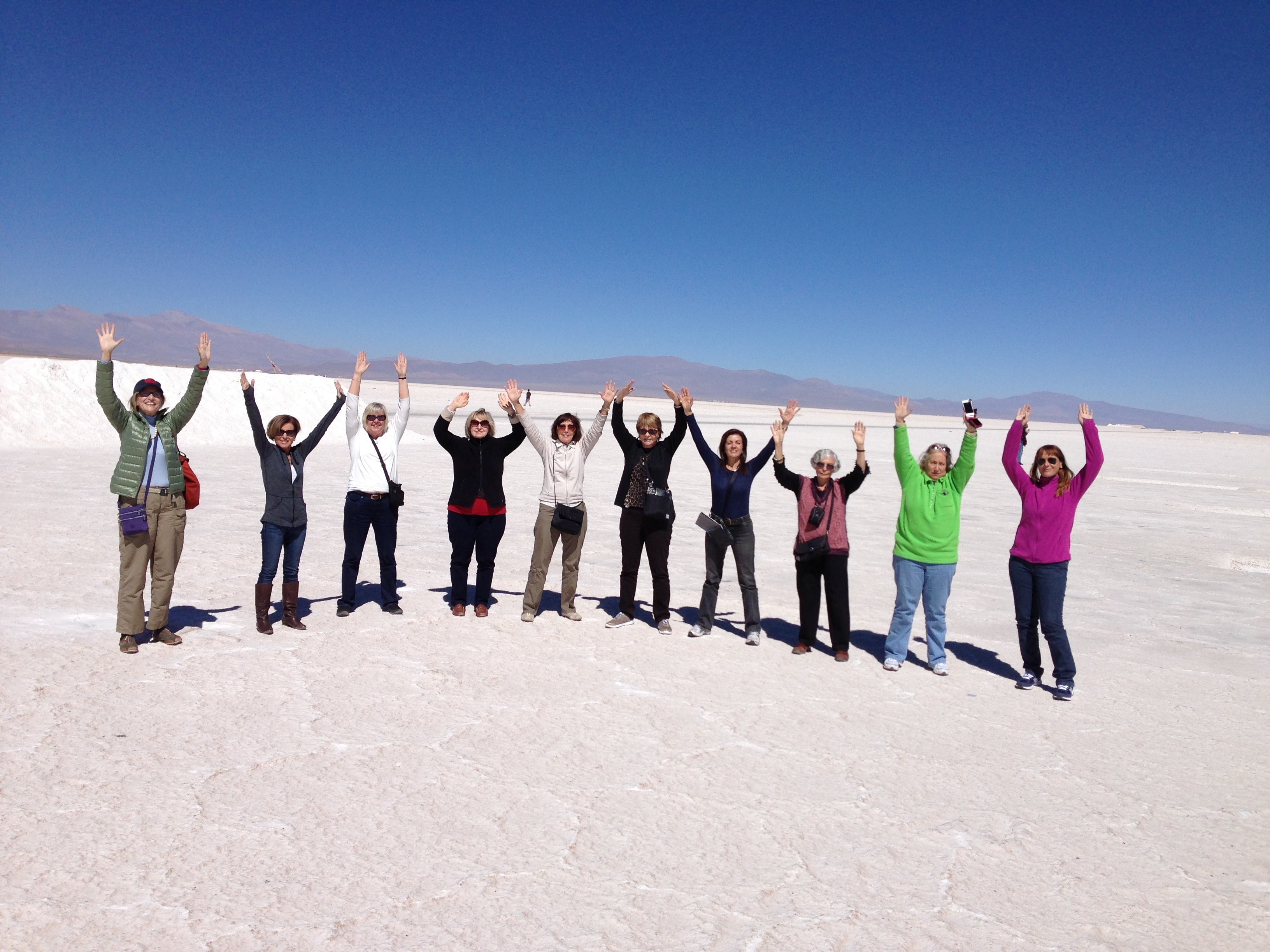 women's travel groups Saltlake