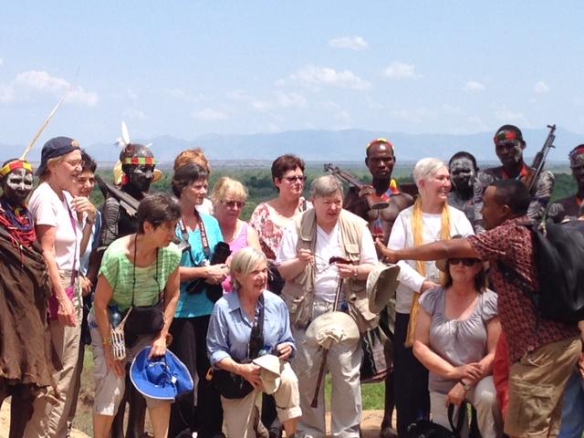 Women's Travel Group in Ethiopia