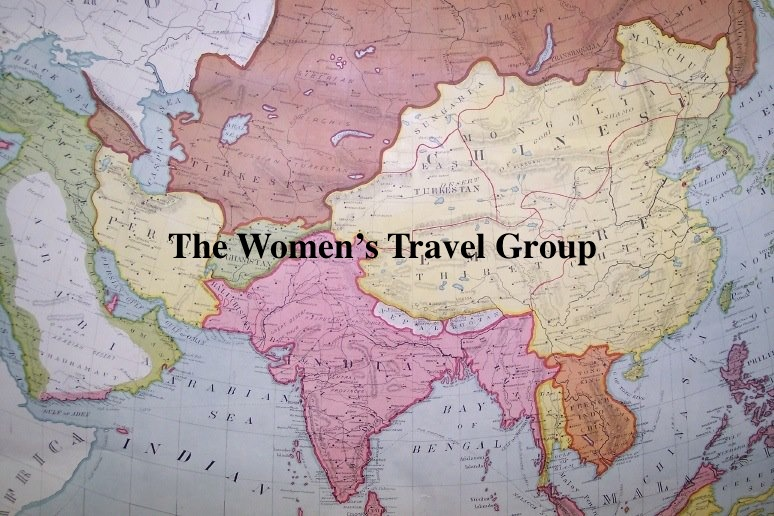 A map from The Women's Travel Group