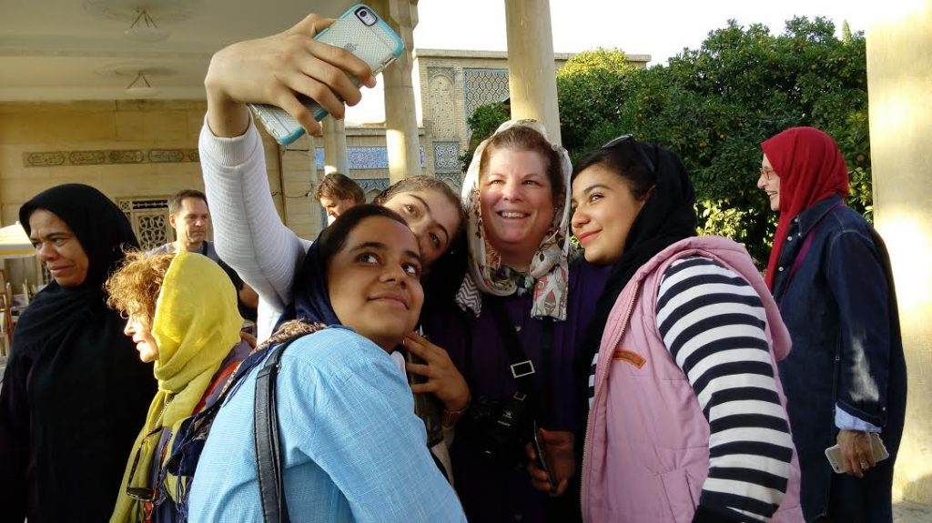 Our travels to Iran and selfies with Iranian girls, joys of travel